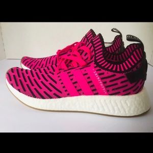 Adidas pink NMDs size 9